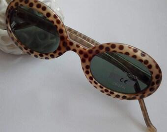 Vintage Leopard print glasses