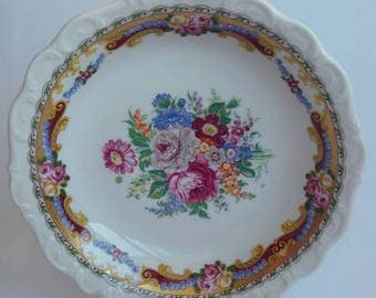Antique Limoges porcelain dish the years 70