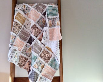 Made to order fawn raq quilt