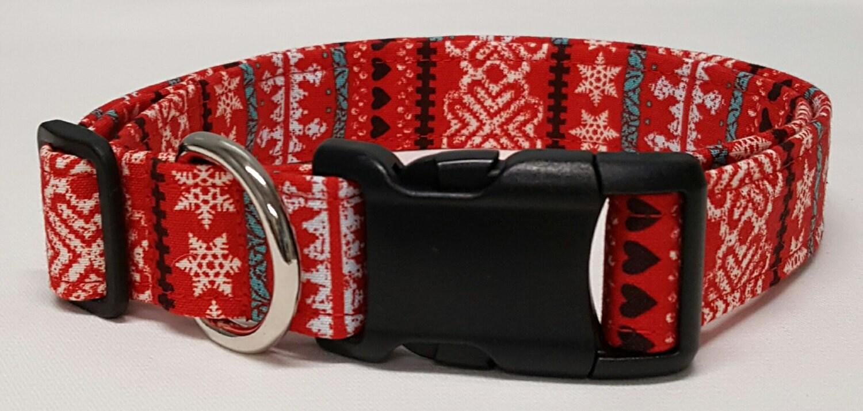 Dog Collar Ugly Christmas Sweater Christmas Dog Collar