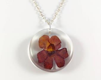 Blossom chain fairy mirror Red