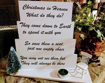 Christmas on heaven sign