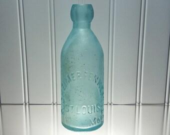 Sudheimer Fennerty & Co. Blob Top Soda Bottle (1880's)