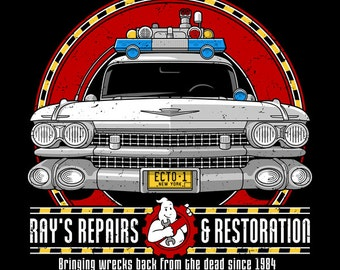 "KIDS ""Ray's Repairs and Restoration"" T-shirt/Snapsuit"