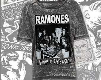 I wanna be caffeinated (Ramones)