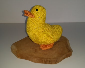 Duck from african flowers, african flower eendje