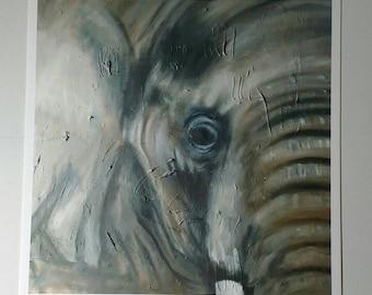Art Print - Elephant - 8.5x11