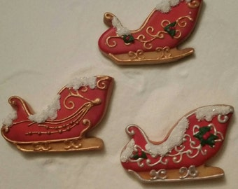 Chirstmas sleighs!  One Dozen