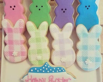 Plaid and Solid Bunnies - Baker's Dozen!