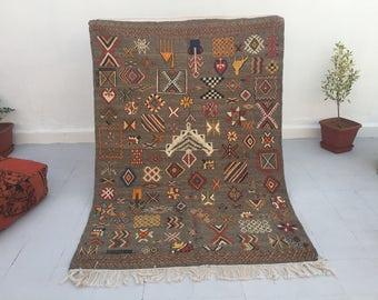 Moroccan Kilim Berber Carpet