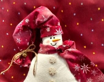 Snowman shelf sitter,snowlady, snowman,Christmas decor,holiday decor,Winter decor