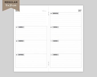 "SALE% - calendar 2017 ""rows"" 1.Halbjahr - regular"