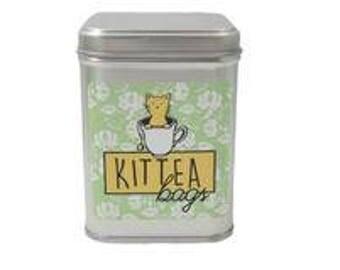 KitTEA Bags, Cat Tea, Catnip Tea, Catnip for Cats, Cat Lover Gift, Organic Catnip, Gift For Cat Lover, Catnip Treat, Tea