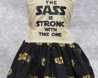 Custom Girls Star Wars Birthday Party Pageant Dress