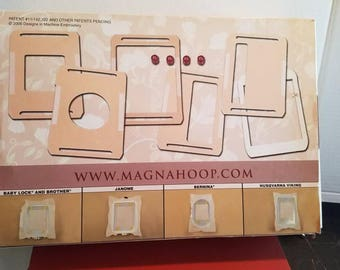 Magna Hoop for Janome Embroidery Machines Magnetic Embroidery hoop