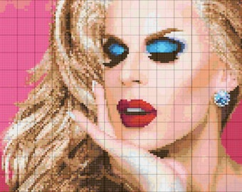 Katya Zamo Cross Stitch Pattern