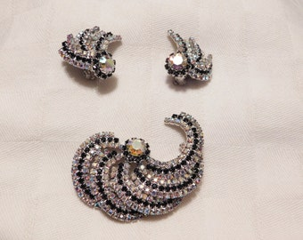 Stunning Brooch and Earrings set