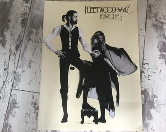 Rare Fleetwood Mac Rumours guitar tab book. 1978 out of print with colour photos