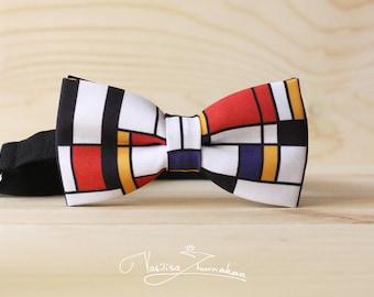 Mondrian art bowtie - bow tie