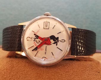 Hamms Beer Novelty Watch with High Grade Movement