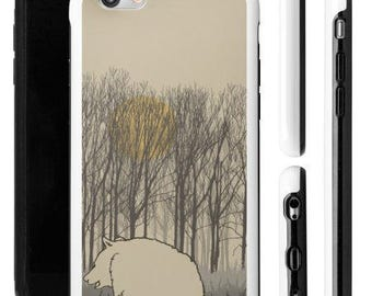 iPhone, Samsung, black bear, bear and forest, northern forest, bear