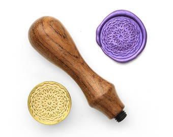 Mandalas Pattern - 8 - Design OD Wax Seal Stamp (DODWS0320)