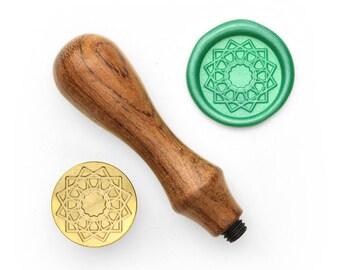 Mandalas Pattern - 13 - Design OD Wax Seal Stamp (DODWS0325)