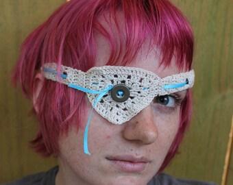 Lacey Crochet Eyepatch