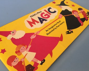 Vintage Children's Picture Book, Magic, By Pam Adams, Published by Child's Play, 1978 Publication