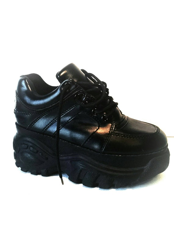 1990s soda grunge club kid platform sneaker tennis shoes