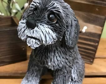 Clay - 9's Custom Clay Dog Sculptures, Custom Pet Sculpture, Clay Dog, Dog Sculpture, Cockapoo, Pet Sculpture, Poodle, Pet Memorial