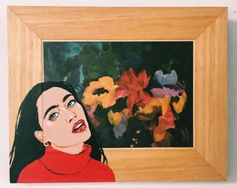 Flower Girl Painting