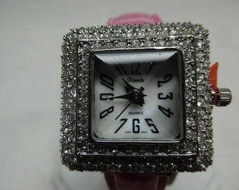 Xanadu Ladies Quartz wrist Watch Rhinestones Galore