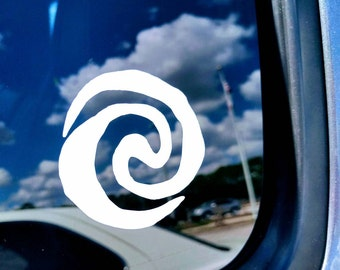 Disneys Moana inspired Vinyl Decal for Car/Tablet/Laptop/Wall~Multiple Colors/Sizes available :)