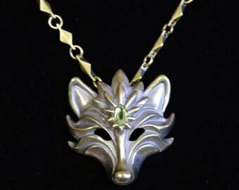 Fox Gem necklace