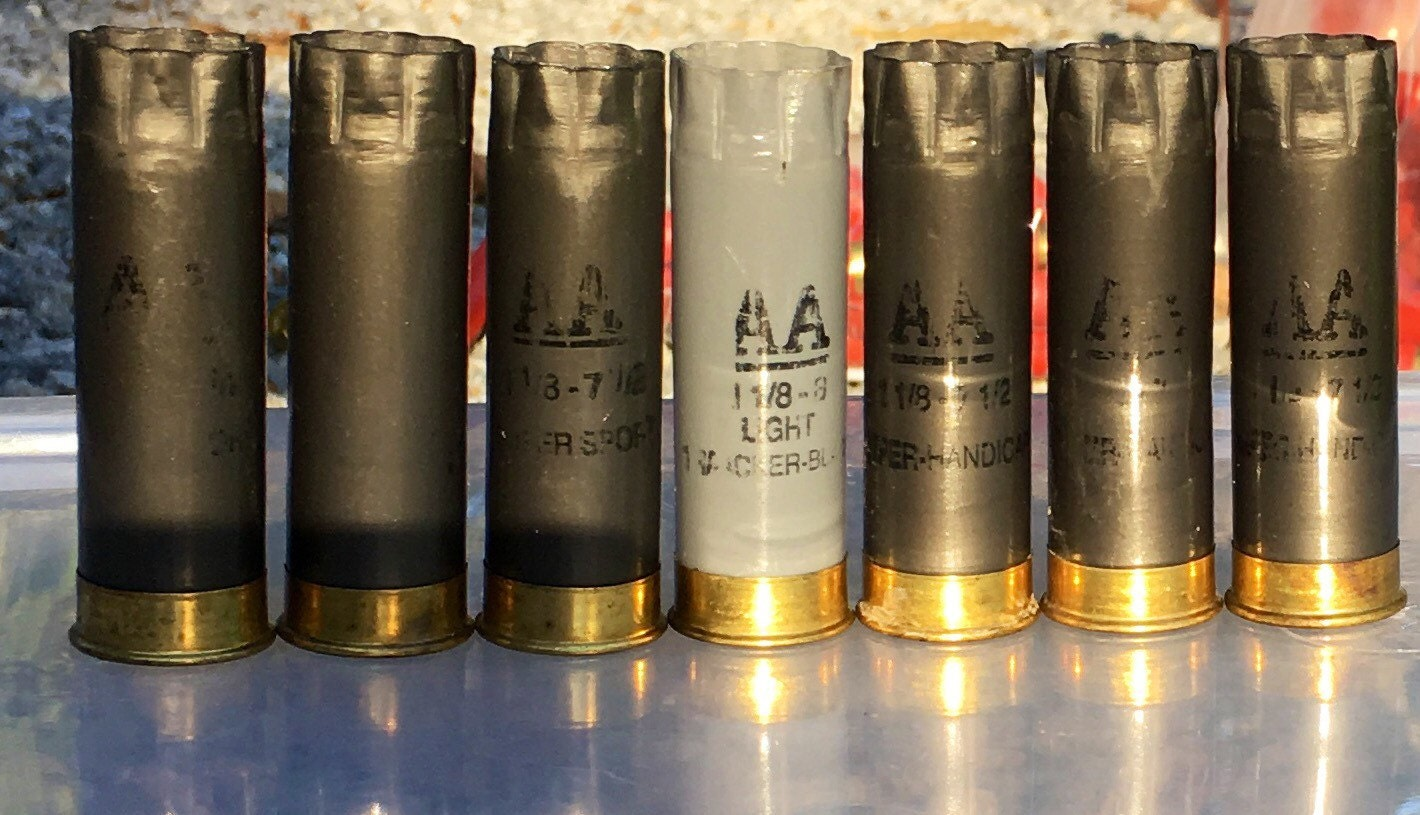 Gray Winchester AA 12ga Shotgun Shells