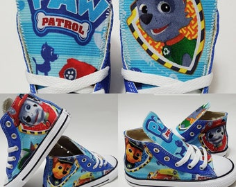 7957820cdde723 Paw Patrol Converse shoes