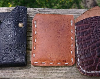 100% Geniune Hand Made Leather Wallets
