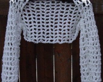 Womens Crochet Shrug