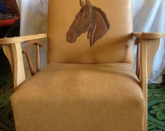 Vintage Roy Rogers Adult Chair