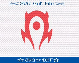 World of Warcraft Horde SVG File / SVG Cut File for Silhouette / Video Game svg / Gamer svg
