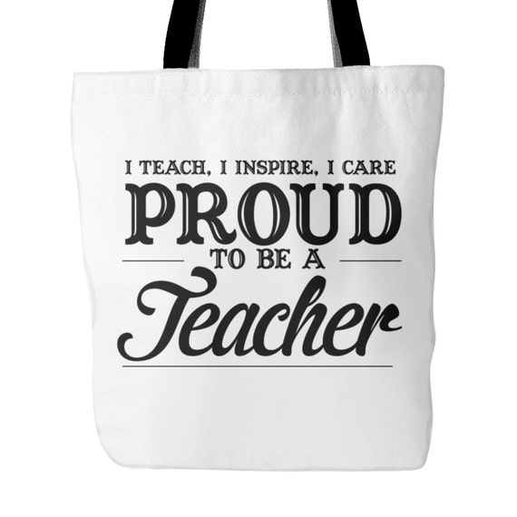 Tote Bag - Proud To Be A Teacher