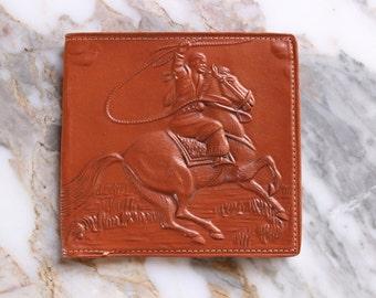 M8002  Vintage Leather 1950's Era Wallet