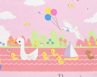 Ugly Duckling fabric by Kokka. SK041
