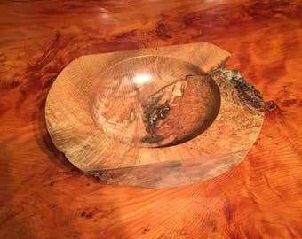 A beautiful rugged chestnut bowl.