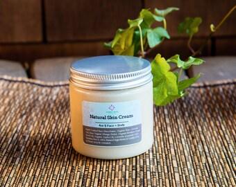 Natural Skin Cream 4oz -Vegan-