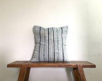 "20"" by 20"" Hmong Hill Tribe Ethnic Batik Thai Cotton Cushion Cover"