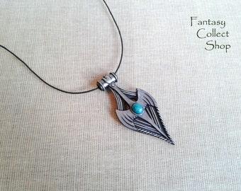 Amulet of Kynareth (The Elder Scrolls) Skyrim cosplay Kynareth necklace Morrowind Oblivion pendant from games Skyrim pendant Skyrim amulet