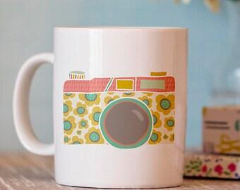 Camera Coffee Mug - Photography Mug - Coffee Mug Photographer Gift - Photographer Mug