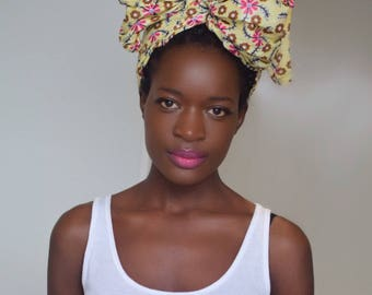 Head wrap | ankara head wrap  | turban | head scarf
